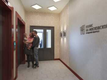 Оформление МОП в жилом комплексе Полис на Московской